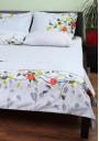 Комплект постельного белья Becker Вlossom евро сатин