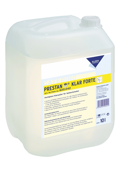 Kleen Purgatis Prestan Clear Forte 10L